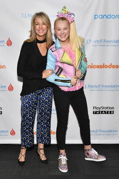 JoJo Siwa Motorcycle Jacket [youth,fashion,event,fun,footwear,fashion design,performance,recreation,child,style,chief marketing officer,president,jojo siwa,consumer products for nickelodeon pam kaufman,t.j.,playstation theater,new york city,martell foundation,l,new york family day]