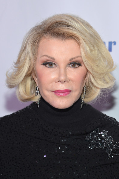 More Pics of Joan Rivers Short Wavy Cut 1 of 18 Short