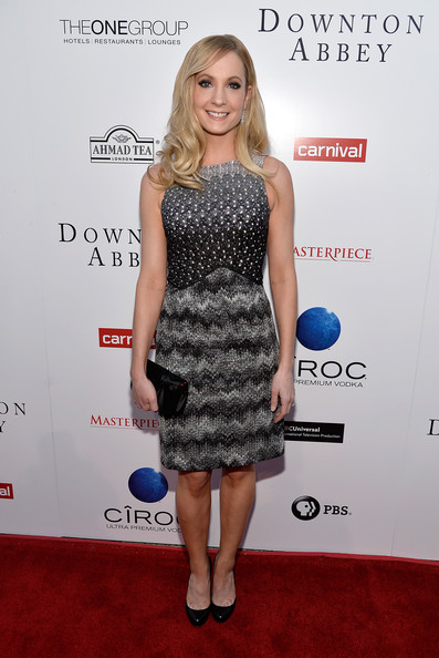 Joanne Froggatt Print Dress