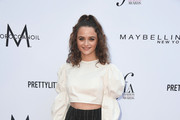 Joey King Crop Top