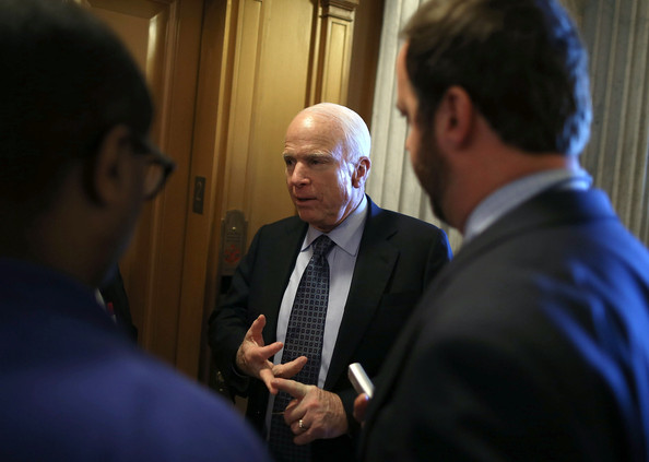 Senate Republicans Address Media After Weekly Policy Luncheon