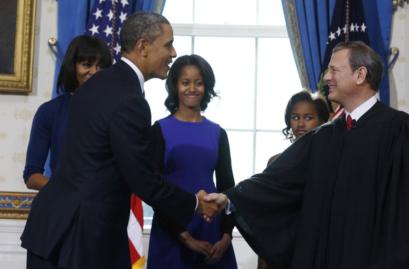 Obama And Biden Sworn In During Official Ceremony