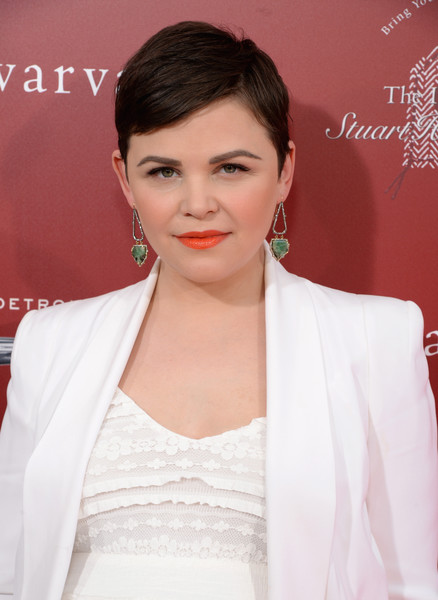 Ginnifer Goodwin attended the Stuart House Benefit rocking her signature pixie. Cute!