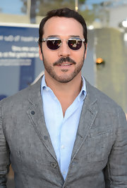 Jeremy Piven sported classic Wayfarer shades while attending a benefit for Stuart House.