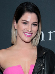 Cassadee Pope showed off a sleek ombre bob at the John Varvatos x Nick Jonas SS18 collaboration launch.