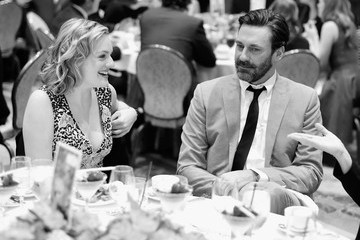 Jon Hamm Elisabeth Moss An Alternative View of the AFI Awards