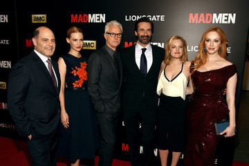 Jon Hamm Elisabeth Moss 'Mad Men' New York Special Screening