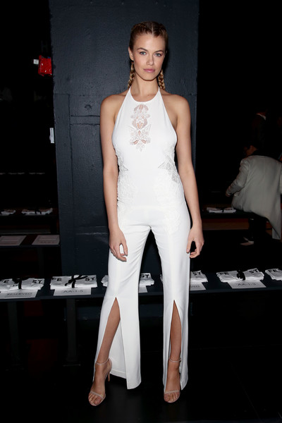 Hailey Clauson at Jonathan Simkhai