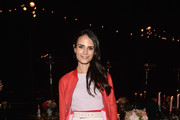 Jordana Brewster Leather Jacket