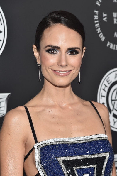 Jordana Brewster Jewel Tone Eyeshadow