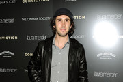 Josh Groban Leather Jacket