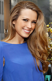 Petra Nemcova attended the Doing Good is a Beautiful Thing event at Sephora wearing her hair in long tousled curls.