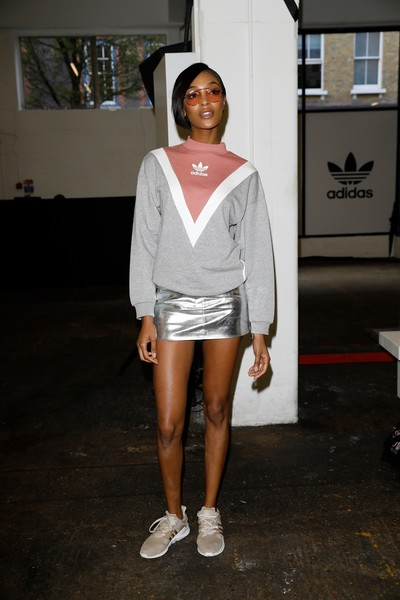 Jourdan Dunn Crosstrainers