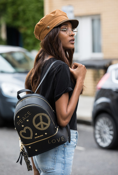 Jourdan Dunn Newsboy Cap