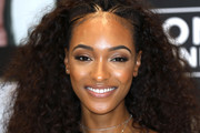 Jourdan Dunn Long Partially Braided