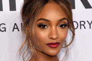 Jourdan Dunn Messy Updo