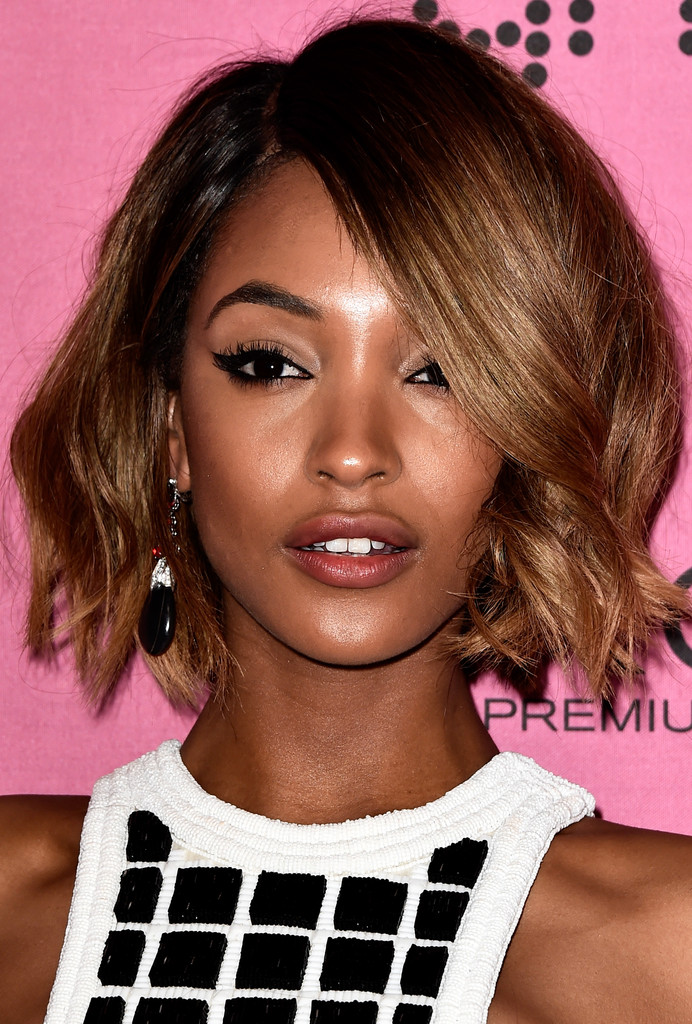 Jourdan Dunn Short Wavy Cut Short Hairstyles Lookbook