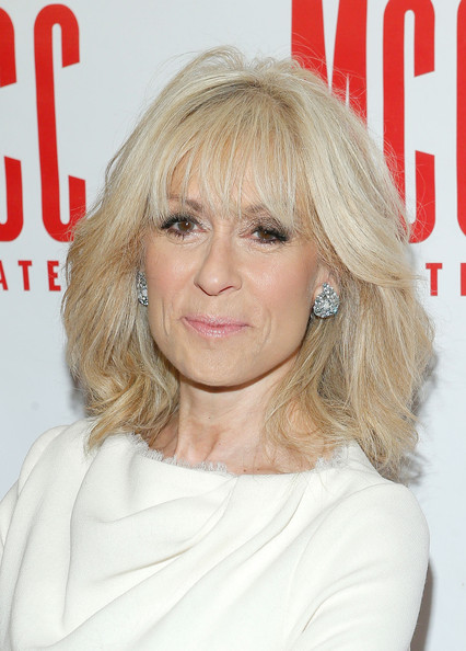 Judith Light Medium Layered Cut [judith light,actress,hair,blond,human hair color,hairstyle,beauty,chin,layered hair,long hair,hair coloring,bangs,event,hammerstein ballroom,new york city]