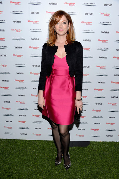 Judy Greer Fitted Jacket