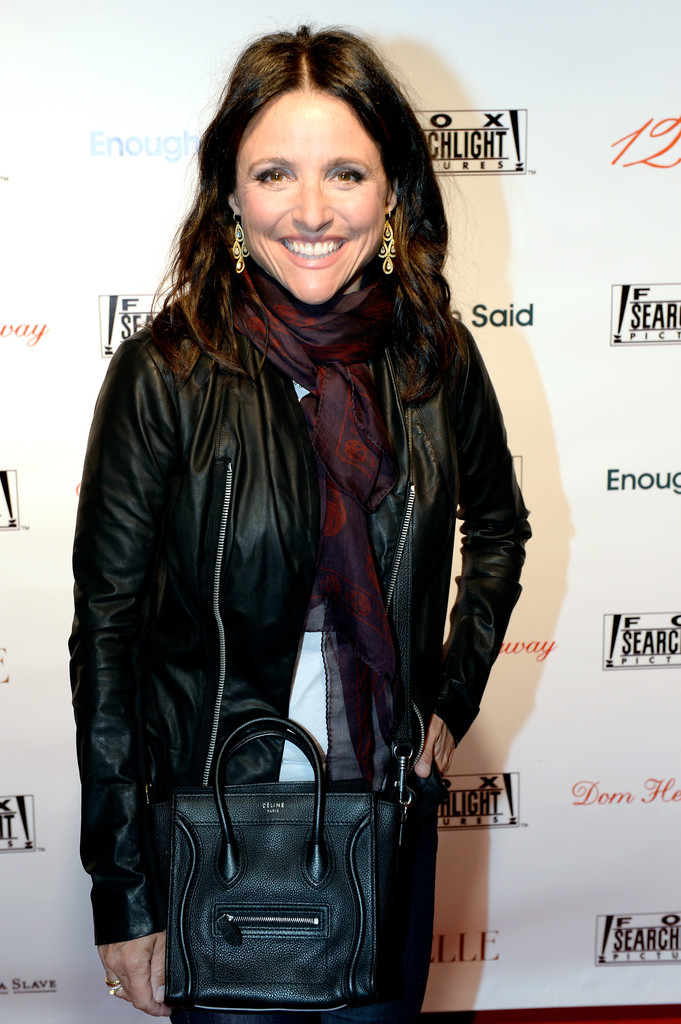 Julia Louis Dreyfus Leather Jacket Leather Jacket
