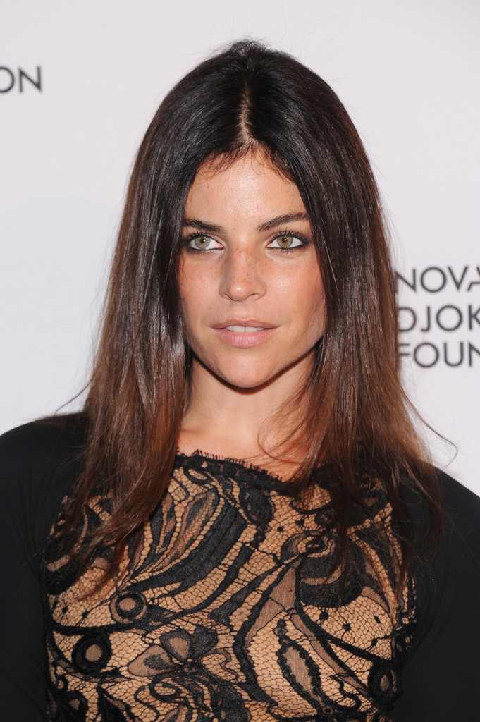 Julia Restoin Roitfeld Long Straight Cut Julia Restoin