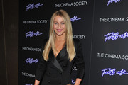 Julianne Hough's Long Layered Haircut at the Cinema Society Screening of 'Footloose'