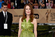 Julianne Moore Cutout Dress
