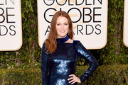 Julianne Moore Sequin Dress