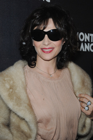 Juliette Binoche Butterfly Sunglasses
