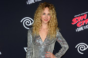 Juno Temple Beaded Dress