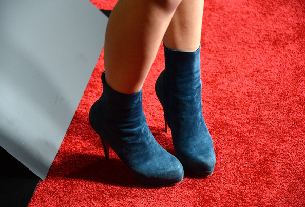 Juno Temple Ankle Boots