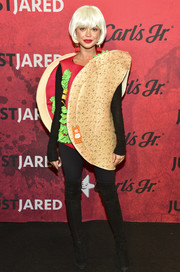 Sarah Hyland attended Just Jared's Halloween party and she made us really hungry with that taco costume!