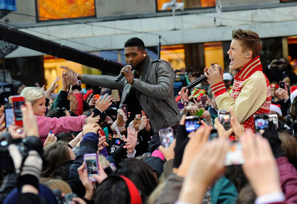 Justin Bieber Performs on 'Today'