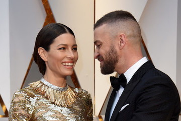 Justin Timberlake Jessica Biel 89th Annual Academy Awards - Arrivals