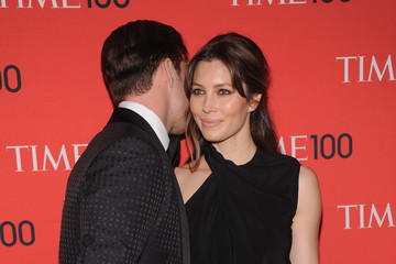 Justin Timberlake Jessica Biel Arrivals at the Time 100 Gala