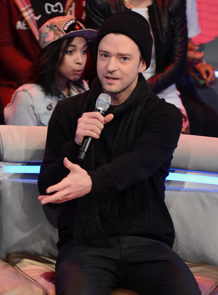 More Pics of Justin Timberlake Knit Beanie (1 of 31) - Winter Hats Lookbook - StyleBistro