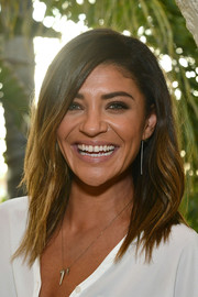 Jessica Szohr sported an edgy-chic layered cut at the KEEP Collective Accessories social.