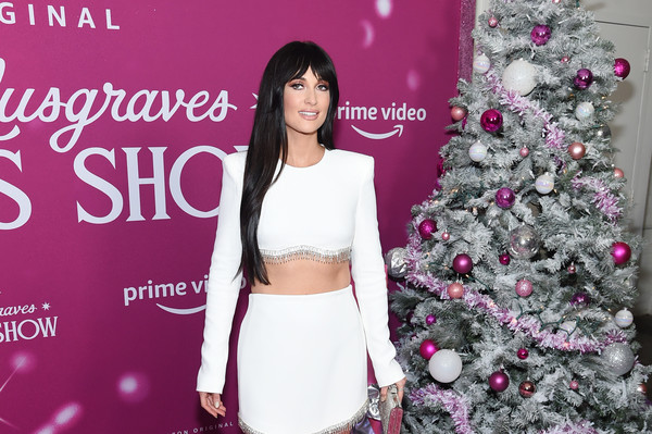 More Pics of Kacey Musgraves Evening Sandals (2 of 23) - Kacey Musgraves Lookbook - StyleBistro [kacey musgraves christmas show,pink,clothing,skin,beauty,fashion,lip,tree,outerwear,event,plant,kacey musgraves,screening,new york,metrograph,screening]