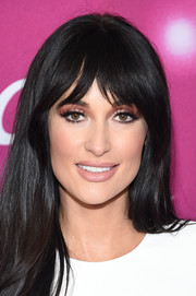 Kacey Musgraves looked pretty with her long straight cut at the New York screening of 'The Kacey Musgraves Christmas Show.'