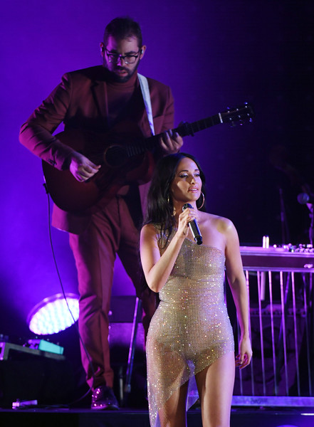 More Pics of Kacey Musgraves Gold Hoops (4 of 48) - Kacey Musgraves Lookbook - StyleBistro [performance,entertainment,performing arts,music artist,stage,event,concert,public event,music,musician,kacey musgraves,brett resnick,kacey musgraves in concert,leg,las vegas,nv,cosmopolitan of las vegas,the chelsea,l,world: tour ii]