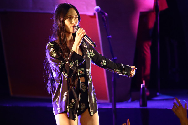 More Pics of Kacey Musgraves Pajamas (4 of 29) - Pajamas & Intimates Lookbook - StyleBistro [performance,entertainment,performing arts,music artist,stage,event,public event,singing,singer,concert,los angeles,ca,greek theatre,kacey musgraves in concert,kacey musgraves]