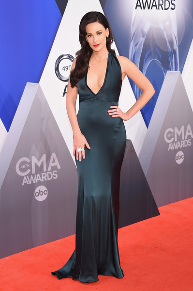 Kacey Musgraves Halter Dress [flooring,carpet,fashion model,gown,red carpet,shoulder,dress,fashion,cocktail dress,formal wear,kacey musgraves,carrie underwood,cma awards,red carpet,carpet,flooring,fashion model,red carpet,bridgestone arena,nashville,carrie underwood,49th annual country music association awards,bridgestone arena,the 49th annual cma awards,country music association awards,red carpet,country music,country music association,carpet,country music association award for female vocalist of the year]