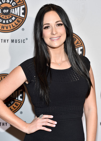Kacey Musgraves Neutral Nail Polish [little black dress,dress,long hair,black hair,brown hair,fashion accessory,smile,cocktail dress,premiere,kacey musgraves,james taylor,joe walsh,chris stapleton,vince gill,los angeles,country music hall of fame and museum presents all for the hall,los angeles benefit concert,benefit concert,the novo]