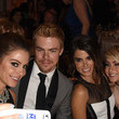 Derek Hough and Maria Menounos