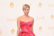 Kaley Cuoco Satin Clutch