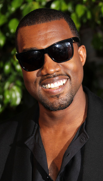 Kanye West Wayfarer Sunglasses [runaway,film,eyewear,hair,sunglasses,facial hair,glasses,hairstyle,cool,forehead,beard,chin,arrivals,kanye west,california,los angeles,harmony gold preview house,premiere,premiere]