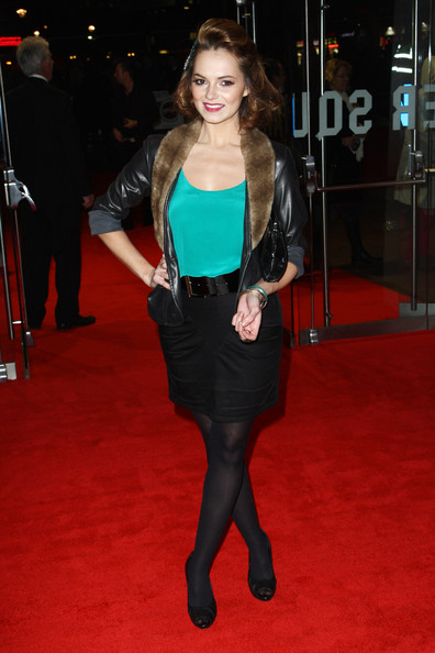 Kara Tointon Patent Leather Clutch