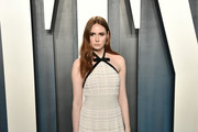 Karen Gillan Halter Dress
