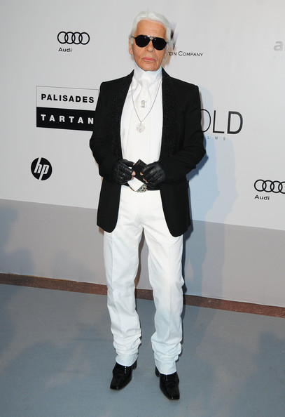 Karl Lagerfeld Sterling Pendant [eyewear,white,clothing,suit,fashion,blazer,formal wear,outerwear,fashion design,street fashion,arrivals,cinema against aids 2010,karl lagerfeld,antibes,france,hotel du cap,amfar,cinema against aids gala,benefit gala]