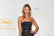 Karlie Kloss Strapless Dress